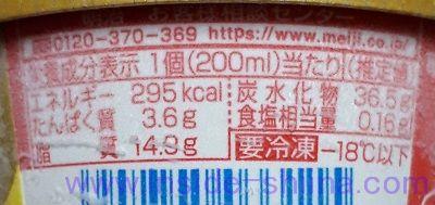 エッセルスーパーカップストロベリーチーズ カロリー 糖質