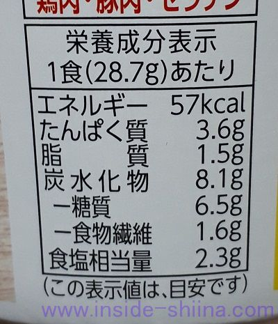 国産鶏だんご汁ゆず香る4種の野菜(ファミマ) カロリー 糖質