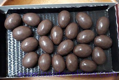 ロッテ アーモンドチョコレートの個数!何粒入り?