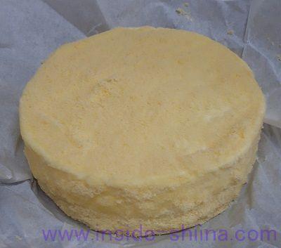 ルタオのチーズケーキ「ドゥーブルフロマージュ」の見た目!