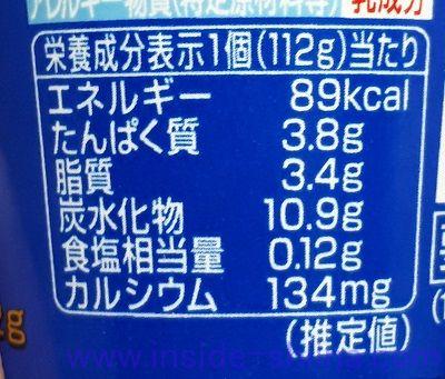 LG21ヨーグルトのカロリー、糖質は!