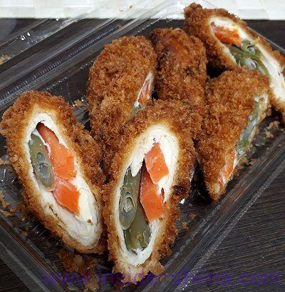 鶏肉野菜チーズカツ