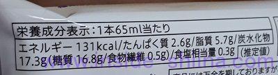 クリームチーズアイスバー(セブン) カロリー 糖質