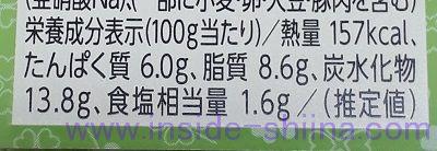 豚タンポテトサラダ カロリー 糖質