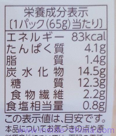 やさい豆(フジッコ) カロリー 糖質