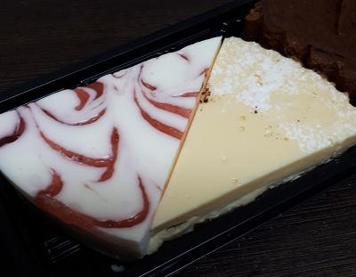 レアチーズケーキとNYチーズケーキ