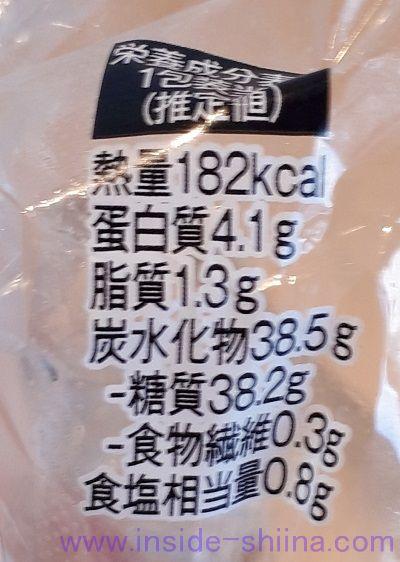 焼しらすおむすび(ファミマ) カロリー 糖質