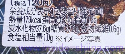 ピリ辛高菜おにぎり(ファミマ) カロリー 糖質