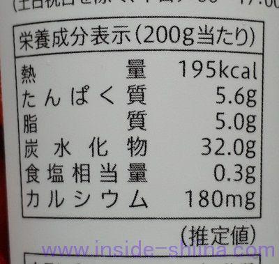 飲むフルーチェのカロリー、糖質は!