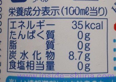 ハタ鉱泉 ラムネ ドリンクは太る?カロリー、糖質、脂質は!