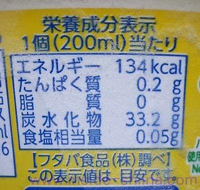 サクレ(アイス)のカロリー、糖質は!