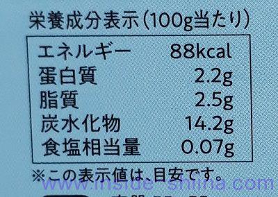 牛乳寒天(新潟うゑの) カロリー 糖質