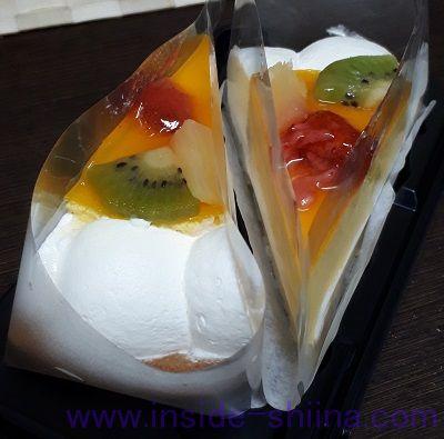 マンゴーとチーズのタルト(ヤマザキ) 見た目