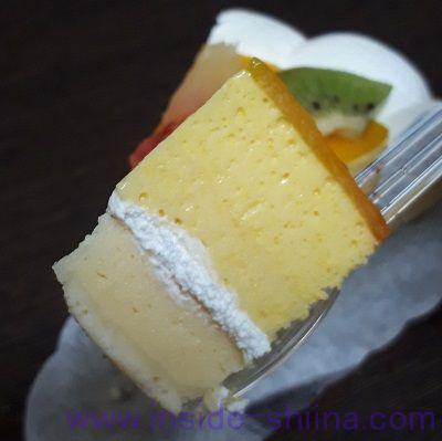 マンゴーとチーズのタルト(ヤマザキ) 一口