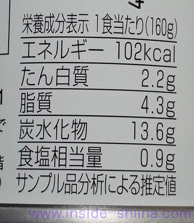 帝国ホテル パンプキンスープのカロリー、糖質、脂質