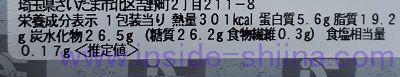台湾カステラサンド(セブン) カロリー 糖質