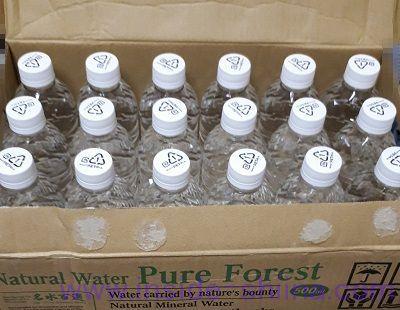 補足:天然水 ピュアの森はラベルレスが安い!