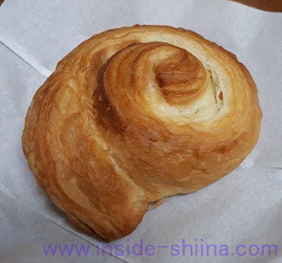 無印良品の低糖質パン!カスタードクリームデニッシュ(Custard Danish Pastry)税込150円 見た目