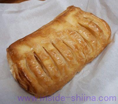 無印良品の低糖質パン!チーズクリームデニッシュ(Cheese Cream Danish Pastry)税込150円 見た目