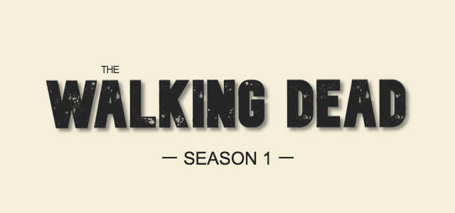 THE WALKING DEAD SEASON1
