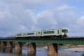磐越西線3222D 快速「あがの」号:キハ110-211+キハ110-206+キハ110-204