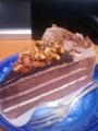 チョコケーキなう