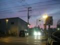 [横浜][鉄道]夕焼け