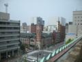 [横浜]屋上から、横浜市開港記念会館方面