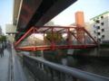 [横浜]赤い鉄橋