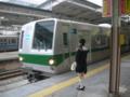 [川崎][小田急][東京メトロ]多摩急行到着