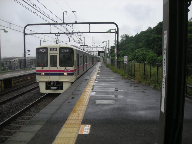 また電車に乗る