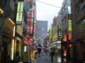 [東京]雨の繁華街