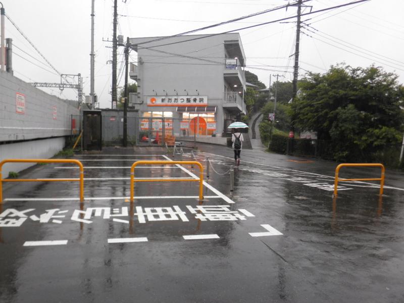 新大津駅前