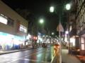 [金沢区]雨の夜
