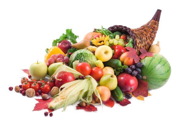 体調を改善してくれる果物や野菜類