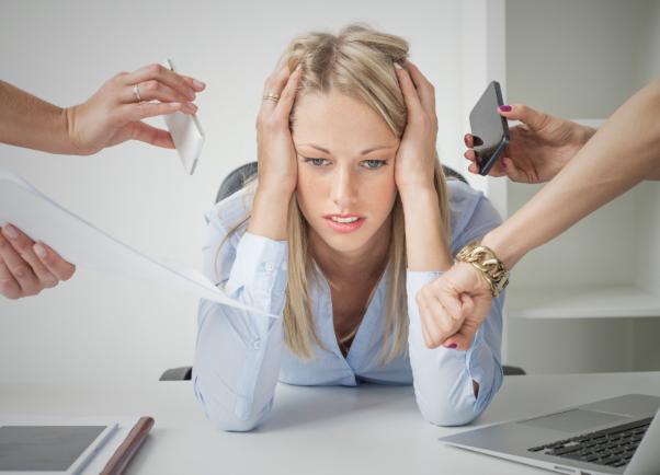 ストレスは、あらゆる面からドロドロ血液の関与