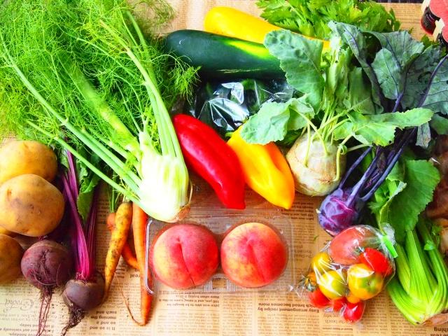 野菜、フルーツ以外、何も加えない