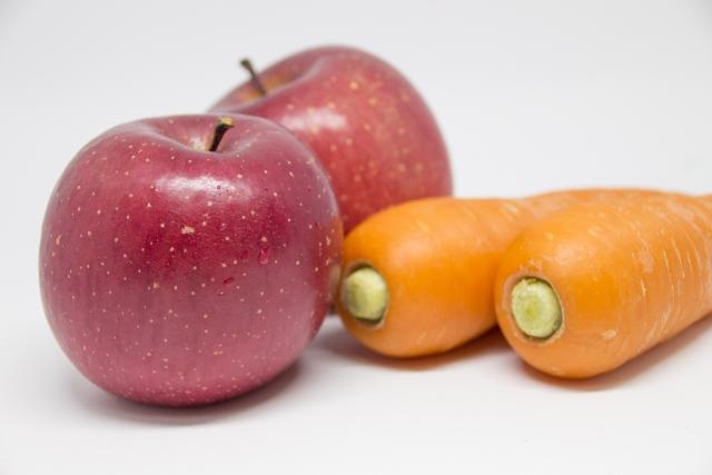 必要な栄養素確保には多量の野菜・果物が必要