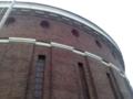 プラネタリウムは塔の中にある、塔は登れて景色がいい。多分景色は