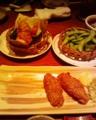 #ngpsw_tour 居酒屋で未食の名古屋飯を制覇中