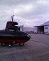 下総航空際で潜水艦を見る
