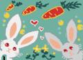 空想世界 ニンジン畑でウサギさんは何思う?