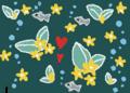 空想世界 湖の底に咲く水草の花は何思う?