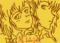 瑠輝と冥 ちょっとラクガキ。似てませんよ。双子だけど。なぜか。
