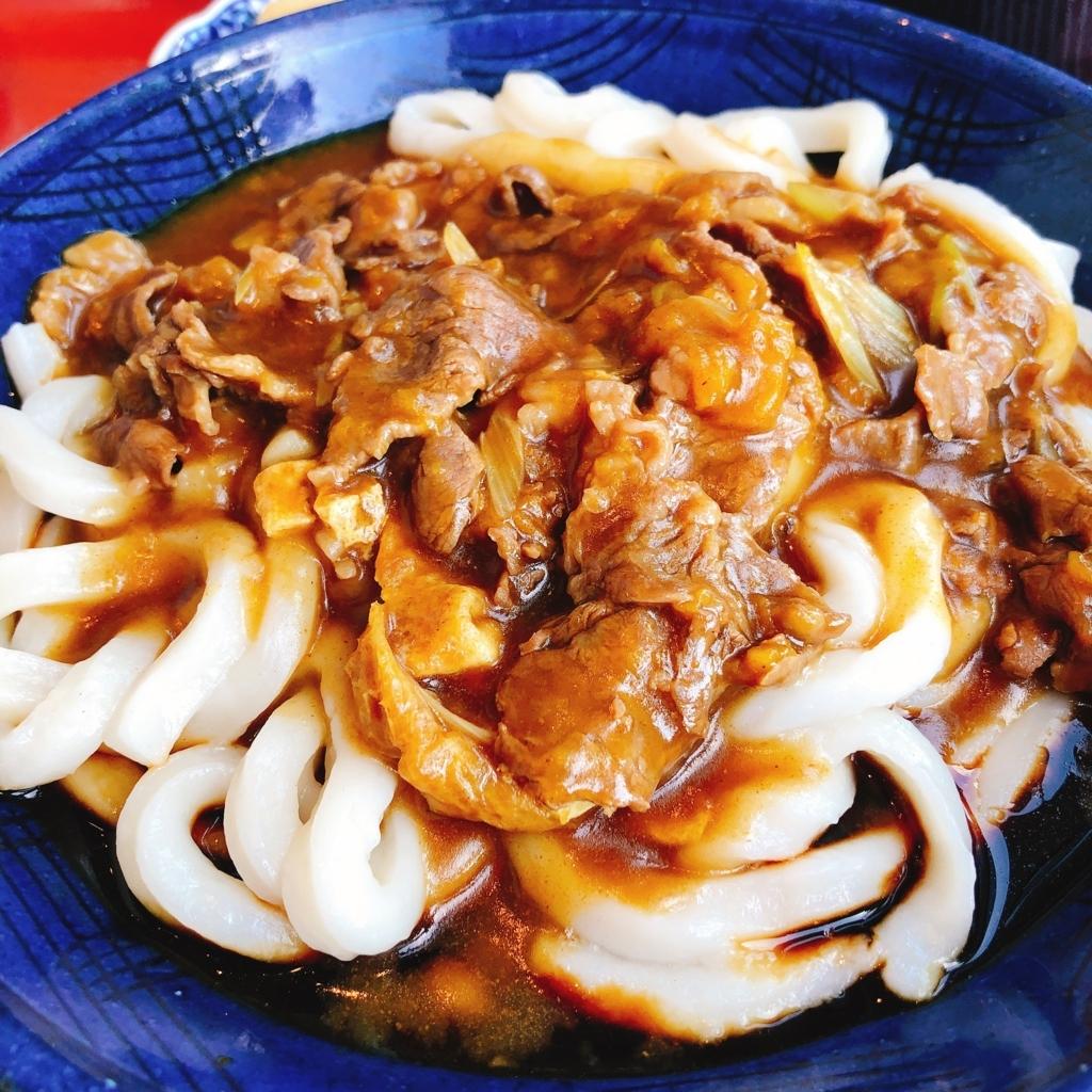 ヒカリエで食べた松阪牛カレーうどん