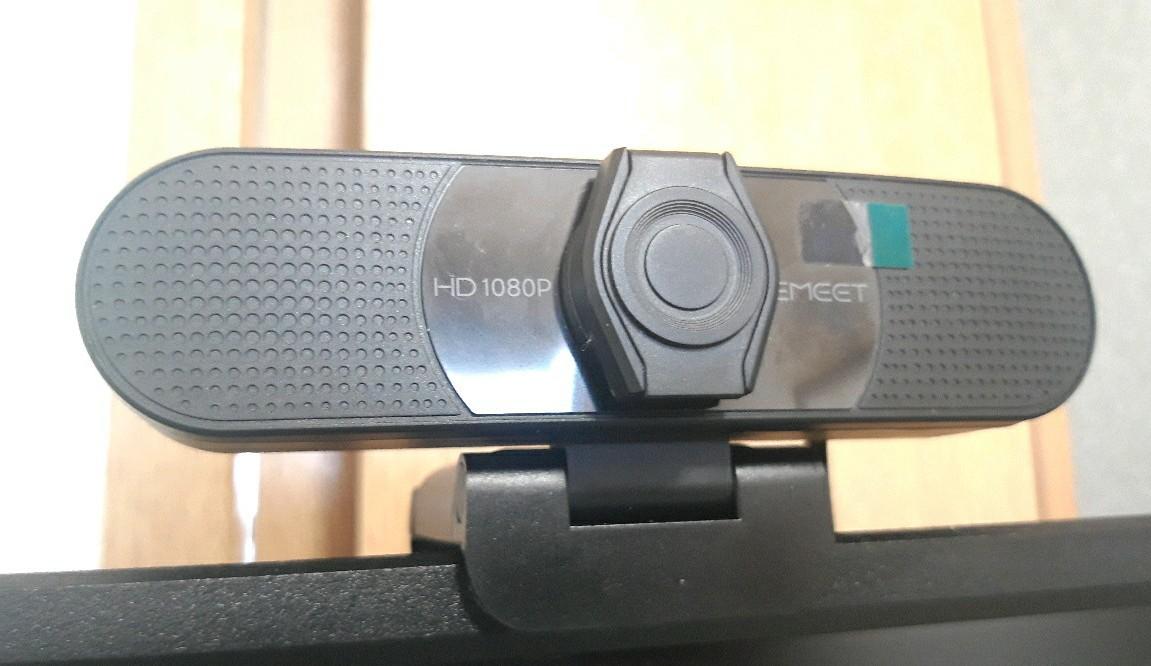 ウェブカメラ eMeet C960 レンズカバー