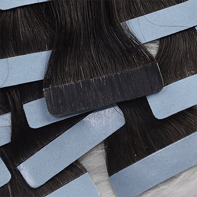 traditional tape in hair extensions