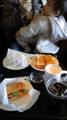 優雅にまったり〜と朝食