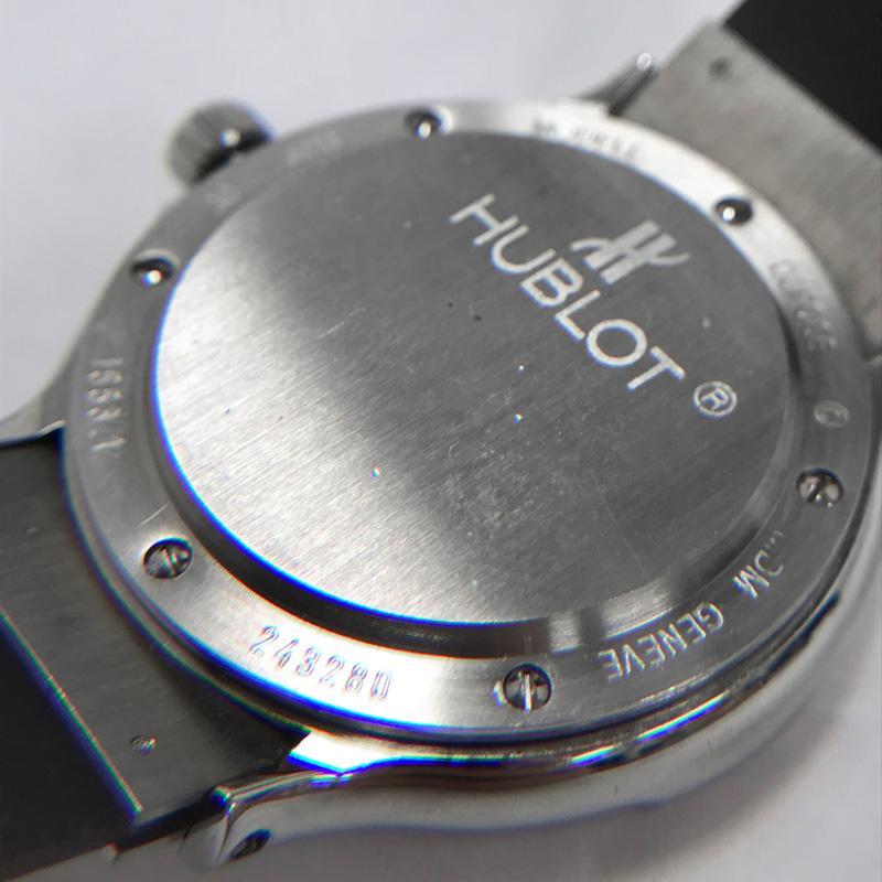 new concept f79c0 216cf HUBLOT ウブロ プロフェッショナル ダイバー MDM 1553.1 300M ...