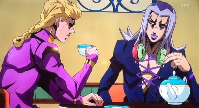 ジョジョ5部アニメ「話でもしようや」